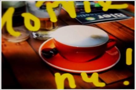 koffie ..