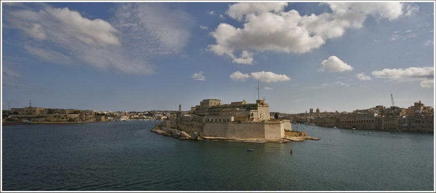 Valletta's skyline