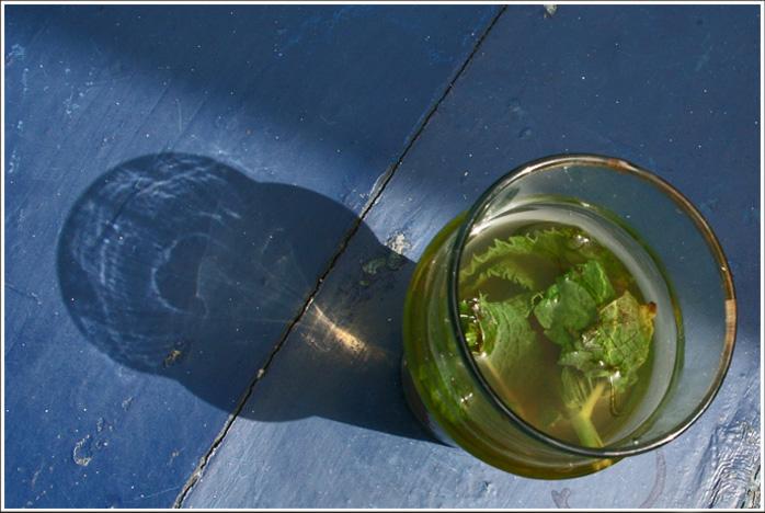 Mint Tea - a man's affair