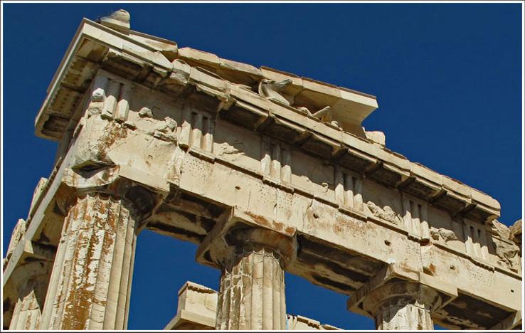 The Parthenon ..